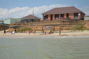 Пансионат на Азовском море